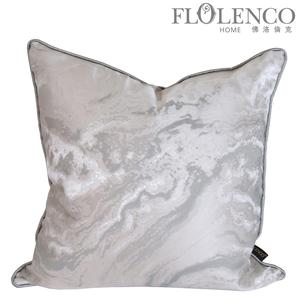 银流纹抱枕