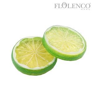 柠檬片-绿